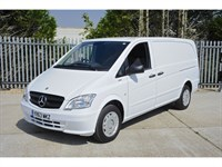Used Mercedes Vito 113 CDi Long Air Con Ex Demo