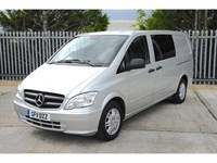 Used Mercedes Vito 113 CDi Long 6 Seater