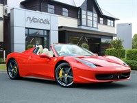 Used Ferrari 458 SPIDER DCT *NOW SOLD