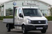 Used VW Crafter TDi (136PS) CR35 LWB Double Cab Dropside Truck
