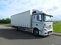 Used Mercedes Actros 1824l High Roof Sleeper