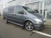 Used Mercedes Vito 122 Long Dualiner Sport X