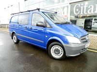 Used Mercedes Vito 116 Long Dualiner Comfort