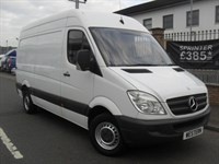 Used Mercedes Sprinter 313 Cdi M/w/b H/roof