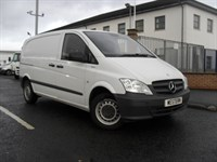 Used Mercedes Vito 110 Cdi Blue Efficient