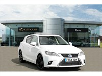 Used Lexus CT 200h Premier 5dr CVT Auto [Sunroof]