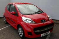 Used Peugeot 107 Urban 3Dr 2-Tronic