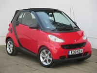 Used Smart Car Fortwo Cabrio Smart Fortwo CDI Pulse 2dr Auto [2010]