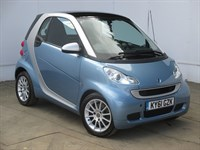 Used Smart Car Fortwo Coupe Smart Fortwo Passion Mhd Auto