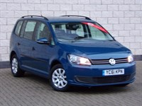 Used VW Touran Volkswagen Touran TDI 105 S 5dr