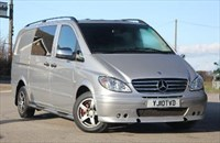 Used Mercedes Vito TD Dualiner Sport-X CDI Panel Van - Long