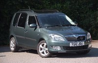 Used Skoda Roomster TSI (105bhp) SE Plus