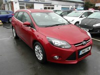 Used Ford Focus Titanium 5 Door Estate,1 Owner Full Service History,Alloy Wheels,Climat