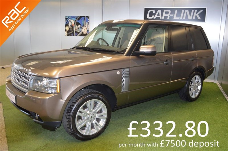used Land Rover Range Rover TDV8 VOGUE SE in bournemouth