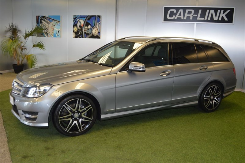 used Mercedes C220 CDI BLUEEFFICIENCY AMG SPORT PLUS in bournemouth