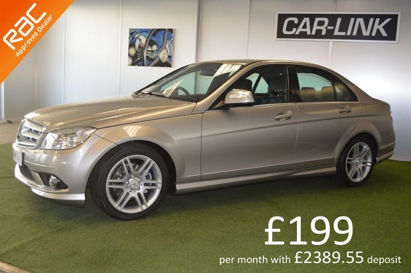 used Mercedes C220 CDI SPORT in bournemouth