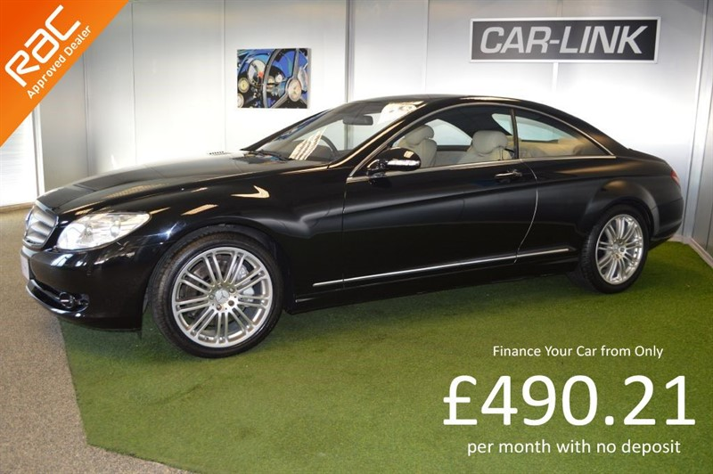 used Mercedes CL500 CL 500 in bournemouth