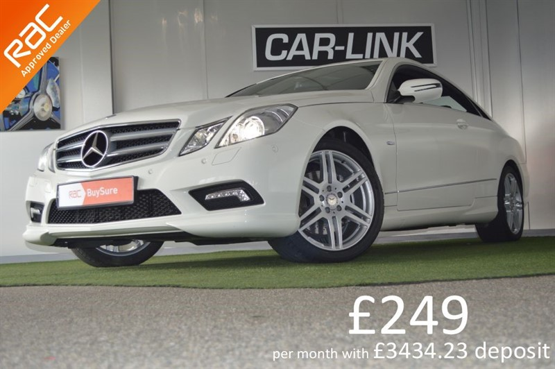 used Mercedes E250 CDI BLUEEFFICIENCY SPORT in bournemouth