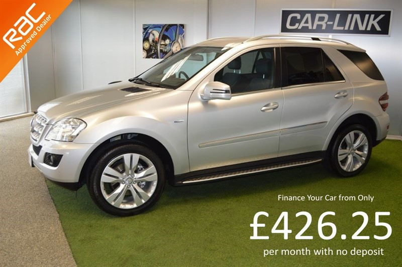 used Mercedes ML350 CDI BLUEEFFICIENCY SPORT in bournemouth