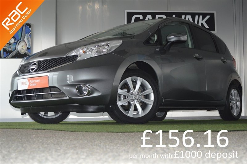 used Nissan Note ACENTA PREMIUM DIG-S in bournemouth