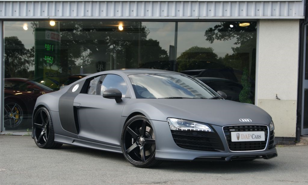 used audi r8 supercharged prior design