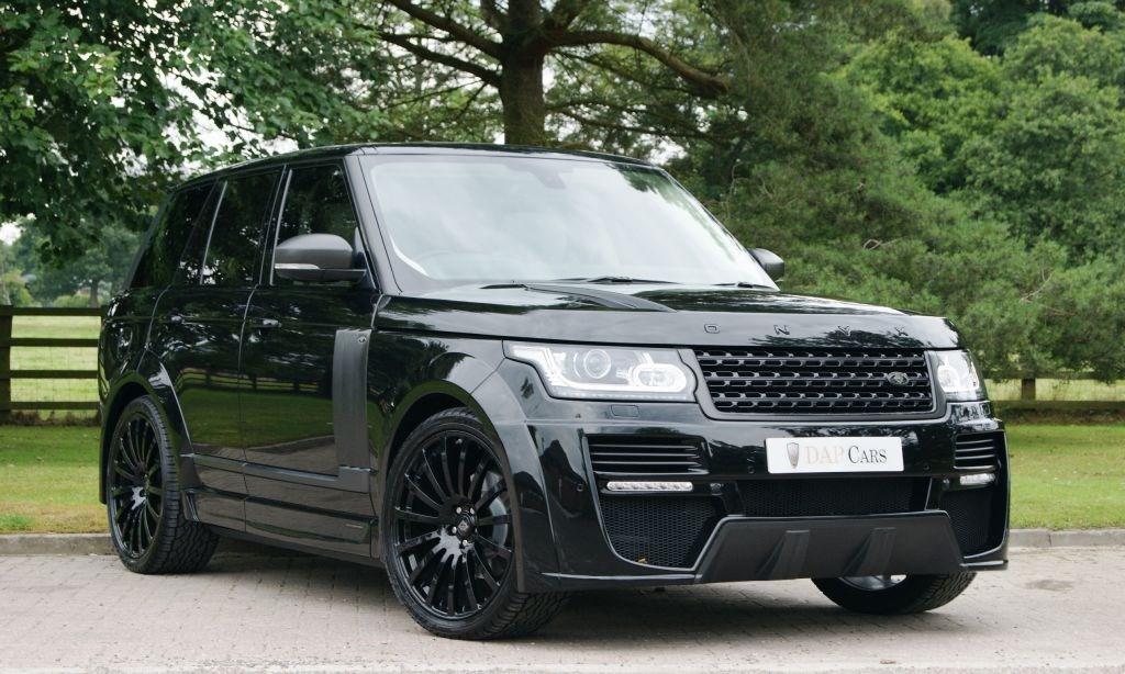 Used Land Rover Onyx Range Rover Aspen Edition Cheshire