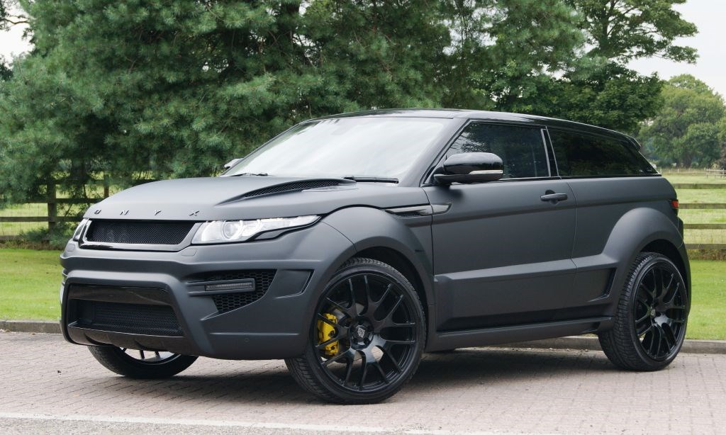 Used Land Rover Onyx Evoque Rogue Edition | Cheshire