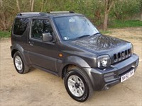 Used Suzuki Jimny VVT SZ4 3dr, Manufacturer warranty, Low mileage