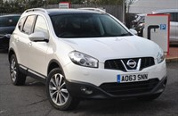 Used Nissan Qashqai dCi Tekna 2WD PAN ROOF, BLACK LEATHER