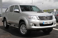 Used Toyota Hilux INVINCIBLE 4X4 D-4D DCB