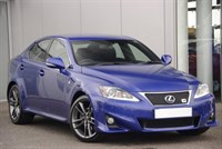 Used Lexus IS TD F-Sport Full Map Navigation