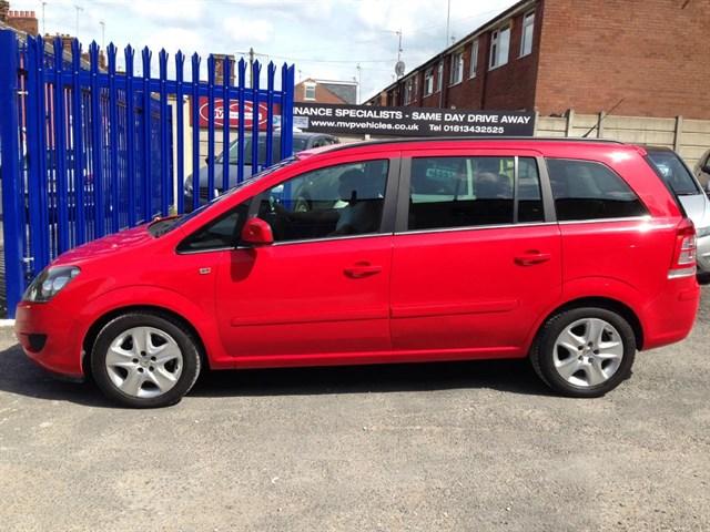 Vauxhall Zafira EXCLUSIV CDTI ECOFLEX