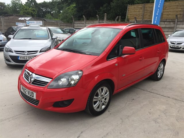 Vauxhall Zafira DESIGN CDTI ECOFLEX