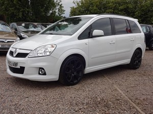 Car of the week - Vauxhall Zafira EXCLUSIV - Only £8,999