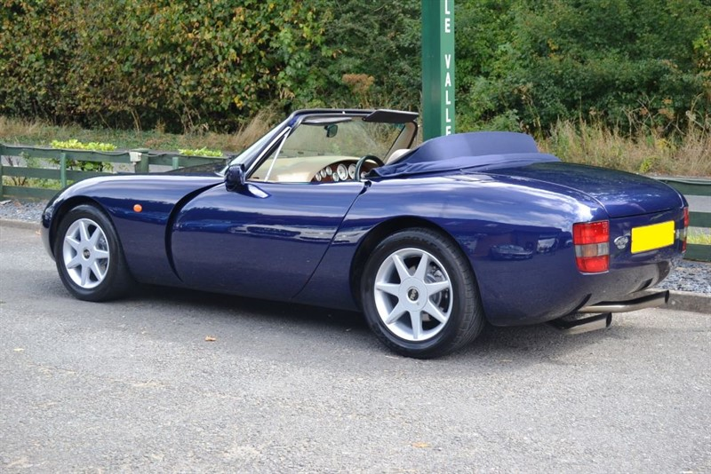 tvr griffith500 v8 for sale near dorking surrey mole. Black Bedroom Furniture Sets. Home Design Ideas