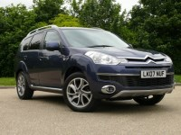 Used Citroen C-Crosser HDI Exclusive 4x4 7 seater with Sat Nav