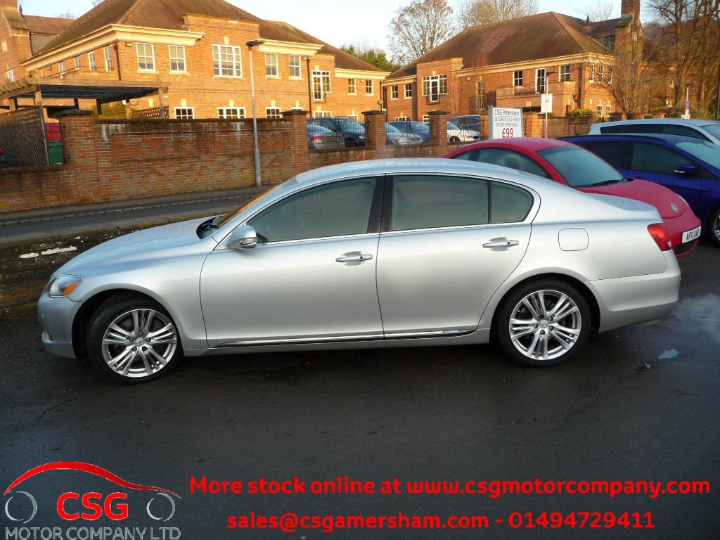 used palladio silver lexus gs 450h for sale buckinghamshire. Black Bedroom Furniture Sets. Home Design Ideas