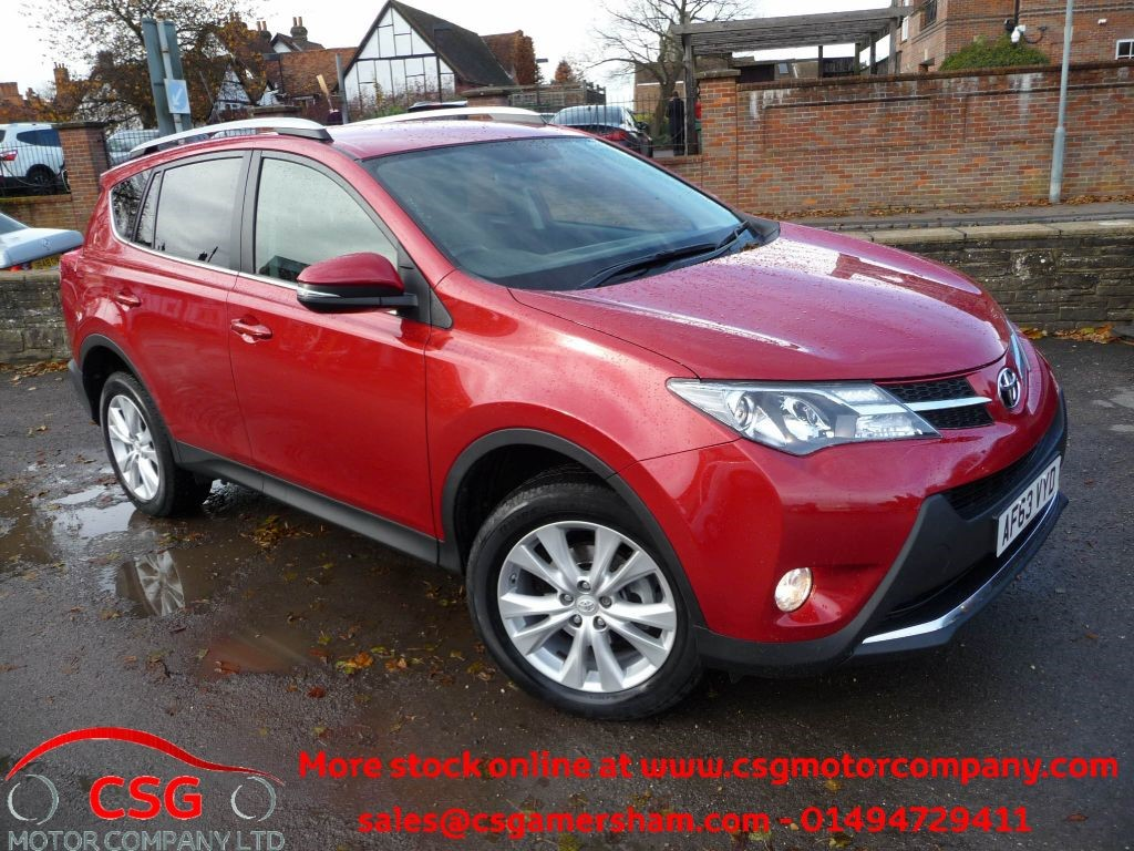 used vermillion red toyota rav4 for sale buckinghamshire. Black Bedroom Furniture Sets. Home Design Ideas