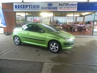 Used Peugeot 206 COUPE CABRIOLET S