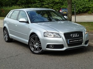 used Audi A3 SPORTBACK TDI S LINE in suffolk