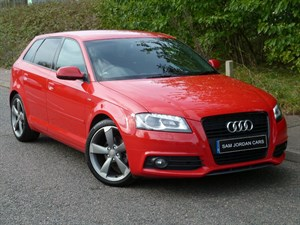 used Audi A3 TDI S LINE BLACK EDITION in suffolk