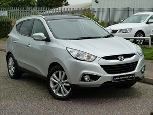used Hyundai ix35 PREMIUM CRDI 2WD in suffolk