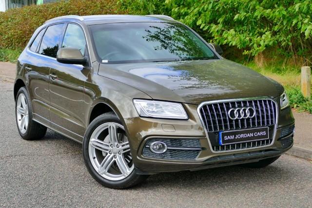 used Audi Q5 TDI QUATTRO S LINE PLUS in bury-st-edmunds-suffolk