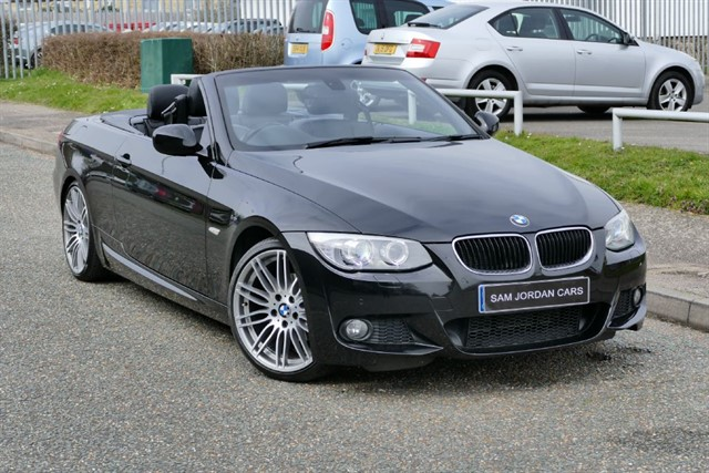 used BMW 320i M Sport Convertible Automatic in bury-st-edmunds-suffolk