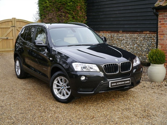 used BMW X3 XDRIVE20D SE in bury-st-edmunds-suffolk