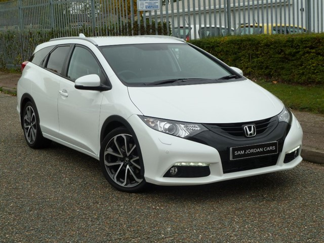 used Honda Civic I-DTEC EX PLUS TOURER in bury-st-edmunds-suffolk