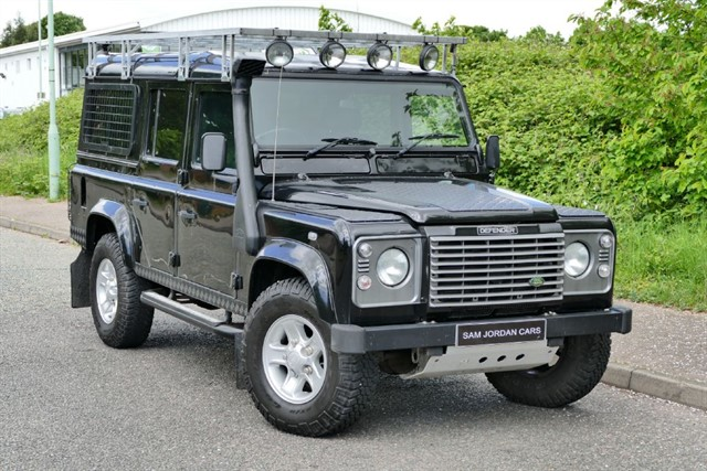 used Land Rover Defender 110 TD5 XS  in bury-st-edmunds-suffolk