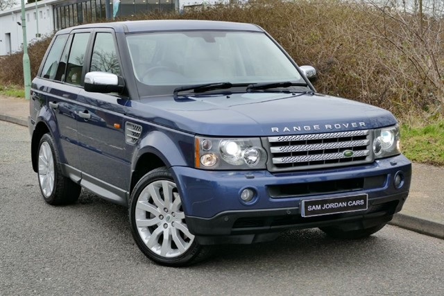 used Land Rover Range Rover Sport TDV8 HSE SPORT in bury-st-edmunds-suffolk