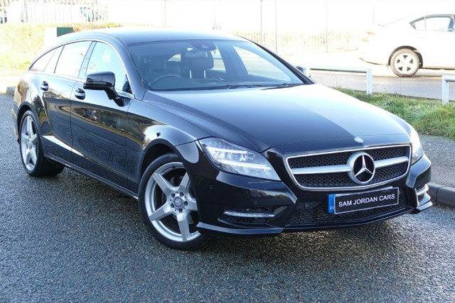 used Mercedes CLS CLS250 CDI AMG SPORT SHOOTING BRAKE in bury-st-edmunds-suffolk