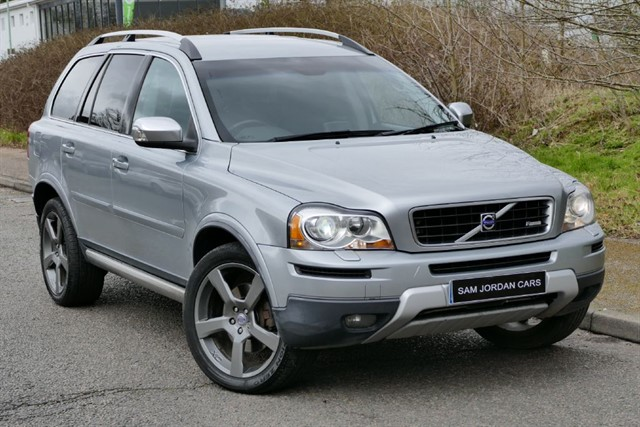 used Volvo XC90 D5 R-Design Geartronic AWD in bury-st-edmunds-suffolk